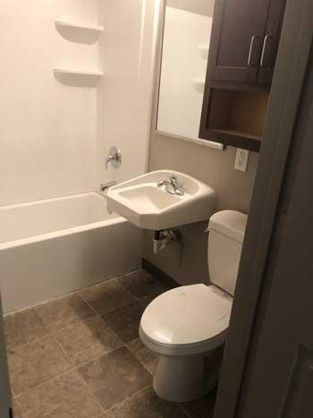 gospel garden bathroom